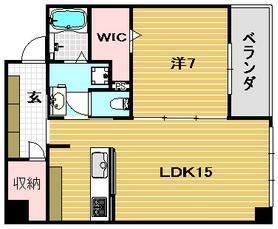 カラー(2号室・1LDK).JPG