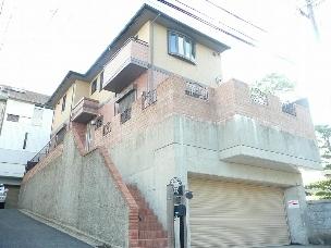木村戸建1 茨木市の賃貸戸建外観写真