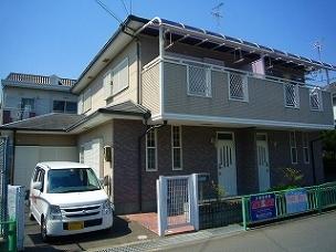 茨木市の賃貸物件|西原コーポの外観