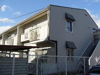 茨木市の賃貸アパート|ガーデンハイツ林 外観.jpg