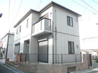 茨木市の一戸建貸家 ユーティー58の外観写真