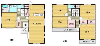 茨木市の賃貸一戸建て 南春日丘新築貸家